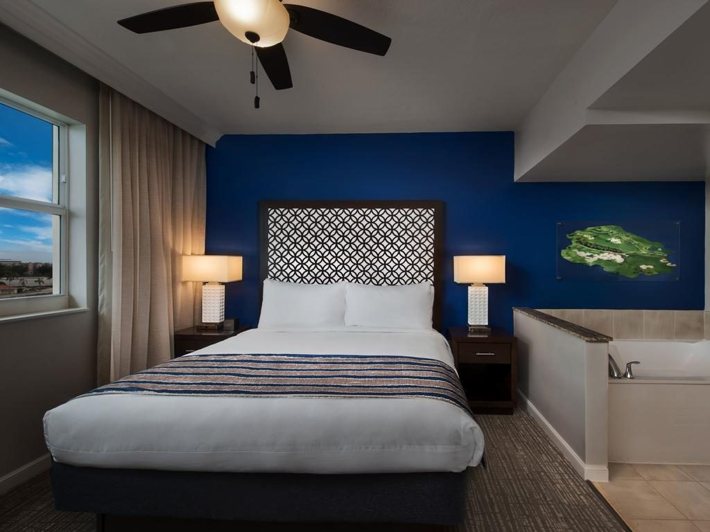 Marriott Villas Bed